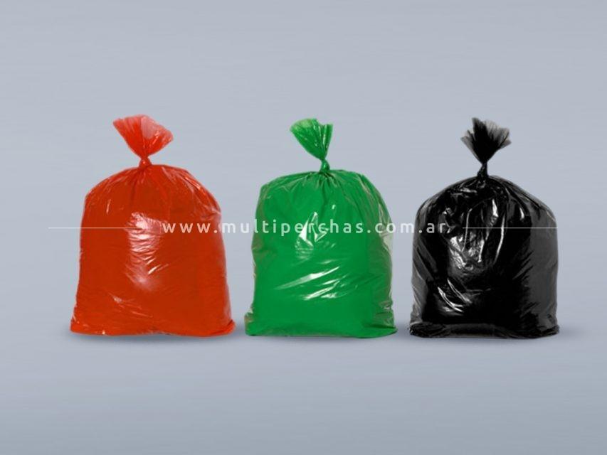 Bolsas de consorcio color